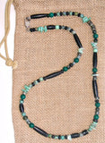 Men's Green Jade Science Fiction Necklace