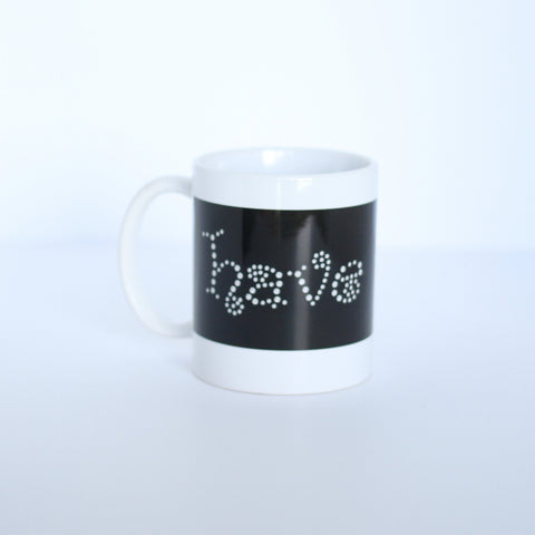 Inspirational Mug -Have Faith Swirl -11 oz
