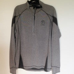 Men's 1/4 Zip Long Sleeve Pullover-Have Faith Circle Cross