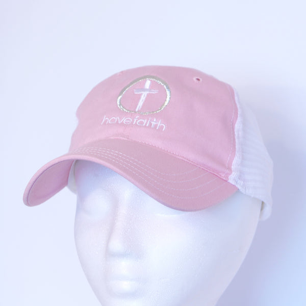 Trucker Hat-Mesh Two Toned with Have Faith