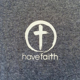 Men's Short Sleeve Tee Have Faith Circle Cross