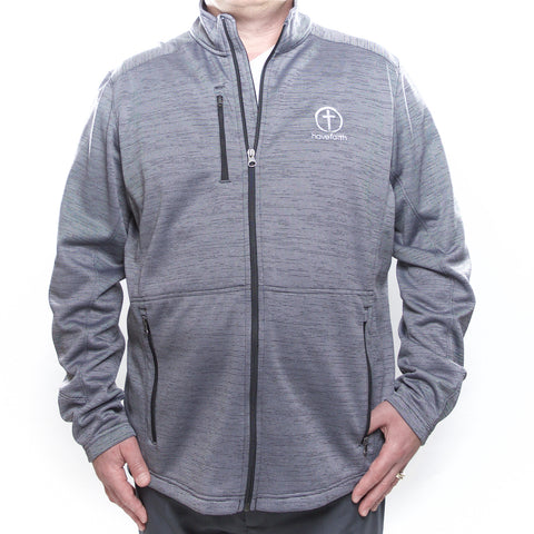 Men's Large Full Zip Soft Shell Jacket