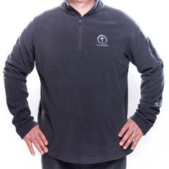 Men's Fleece  1/4 Zip Eddie Bauer - Embroidered Have Faith