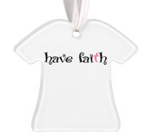 2015 Christmas Ornament-Have Faith Swirl