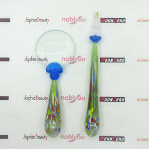 New Colored Glass Magnifying Pen Set For Diamond Painting Mosaic Embroidery Tools Beautiful Handle Magnifying