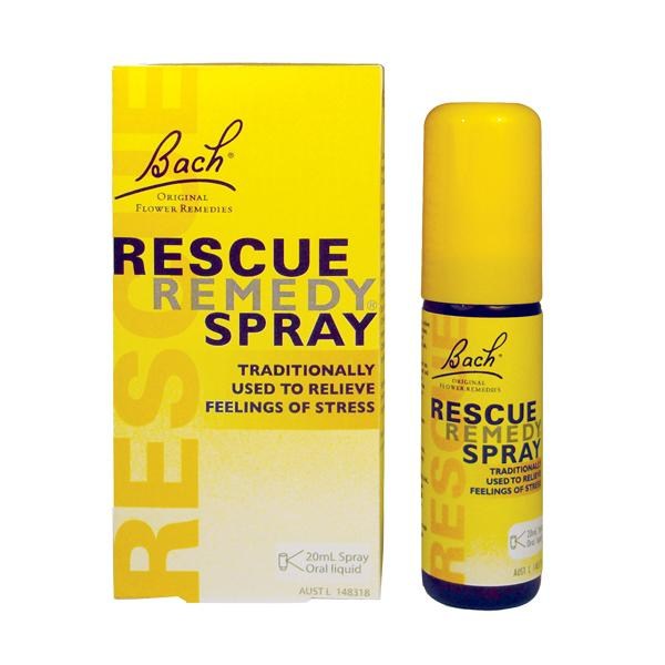 BACH RESCUE SPRAY 20ML | Mr Vitamins