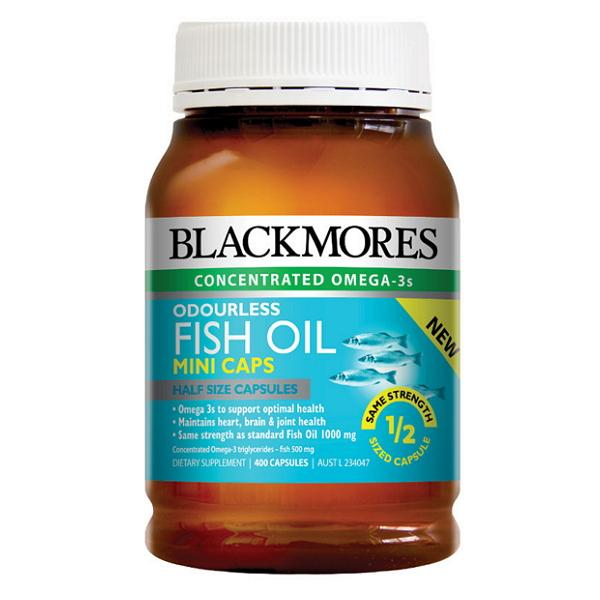 Blackmores Odourless Fish Oil Mini Caps | Mr Vitamins