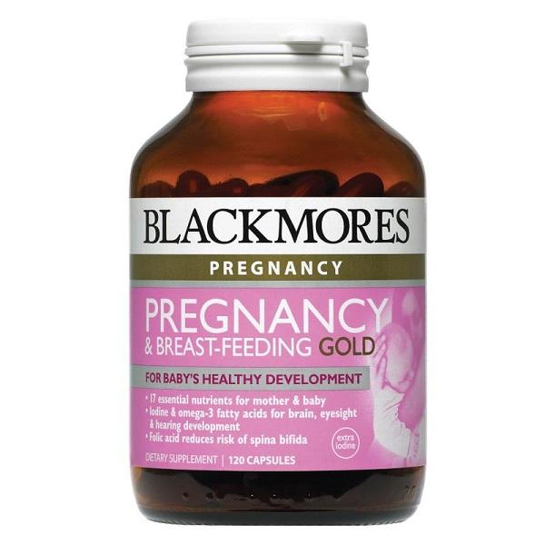 Blackmores Pregnancy & Breast-Feeding Gold 120C