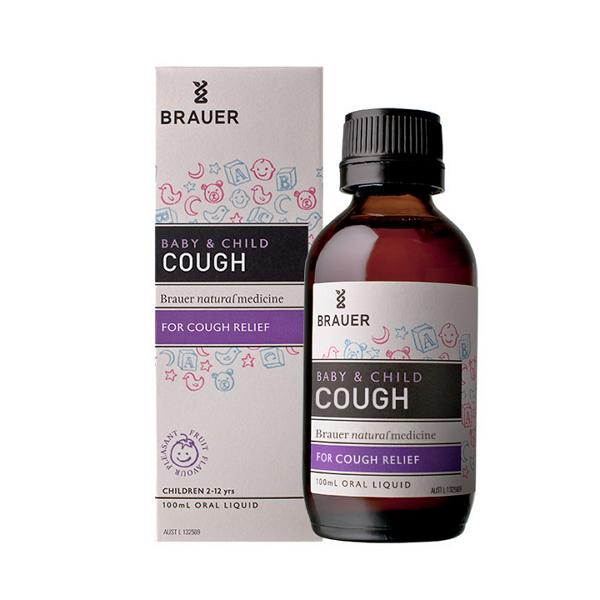 Brauer Baby & Child Cough 100ML | Mr Vitamins