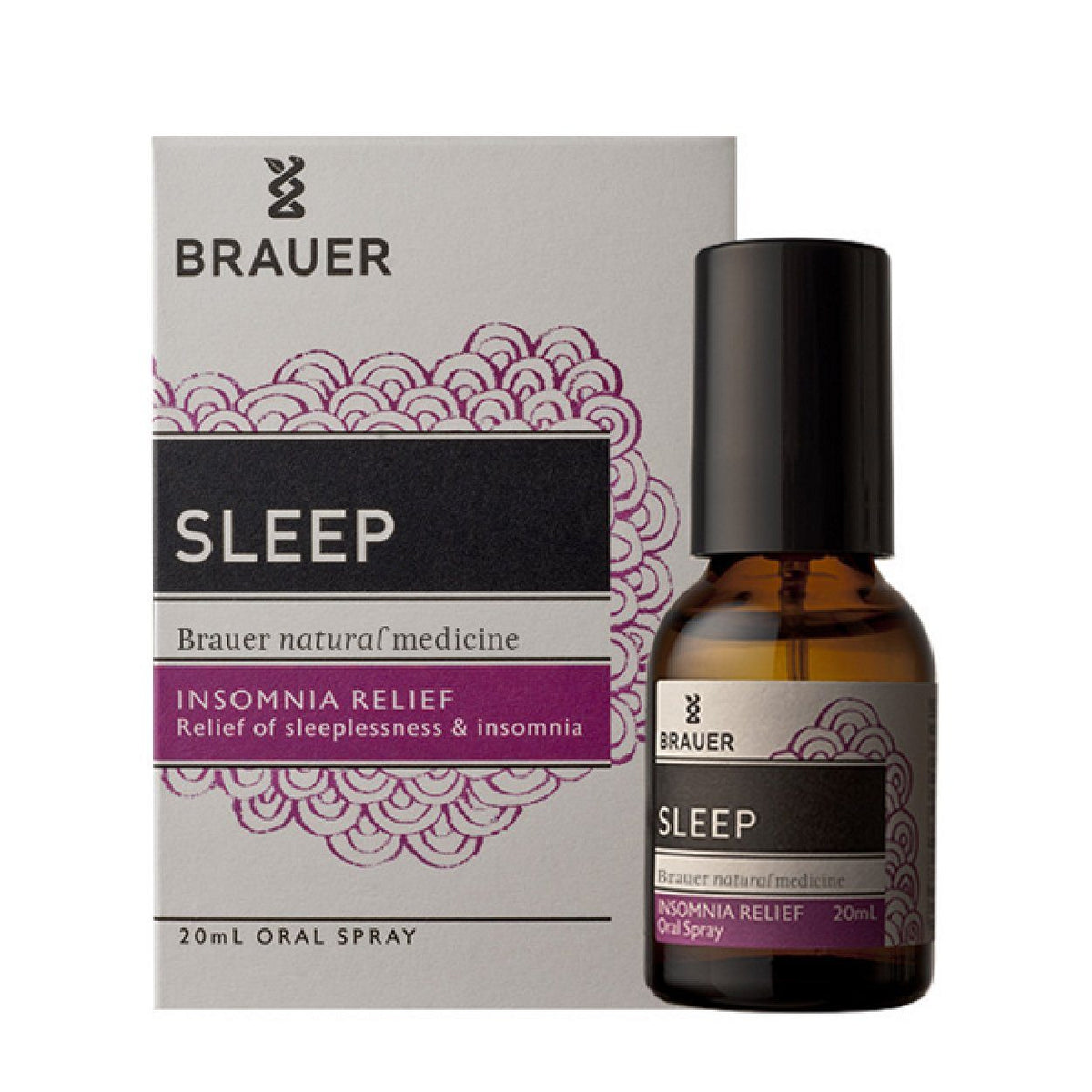 BRAU SLEEP INSOMNIA 20ML | Mr Vitamins
