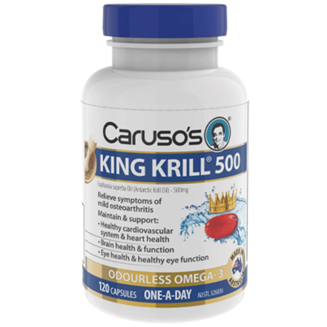 Caruso's King Krill 500mg 120C