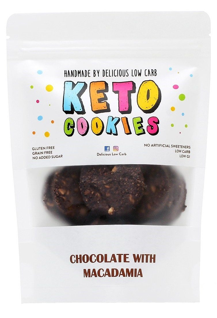 DELICIOUS LOW CARB Keto Cookies Chocolate with Macadamia | Mr Vitamins