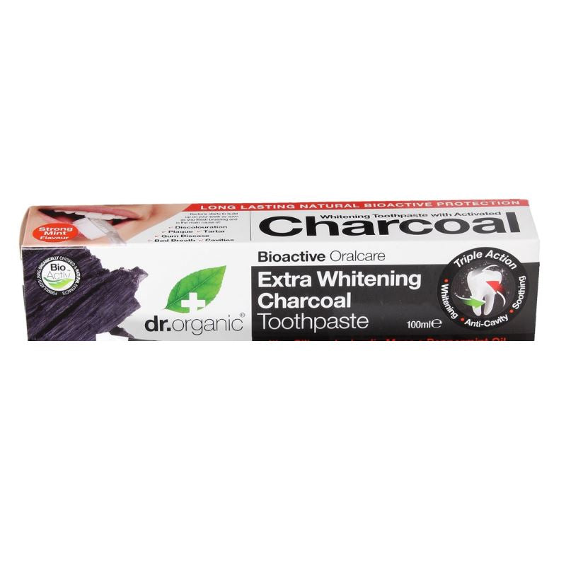 Dr. Organic Toothpaste Activated Charcoal 100ml