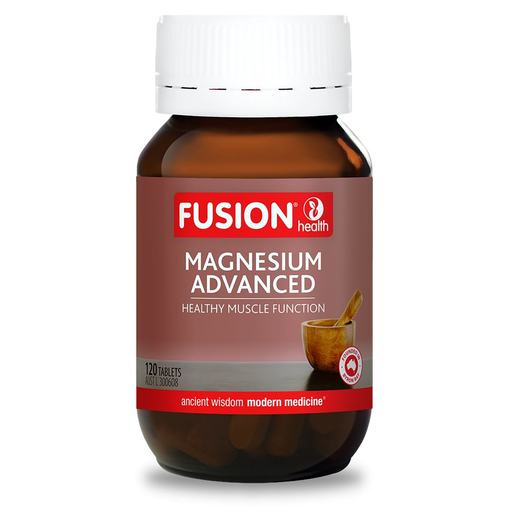 Fusion Health Magnesium Advanced 120T | Mr Vitamins