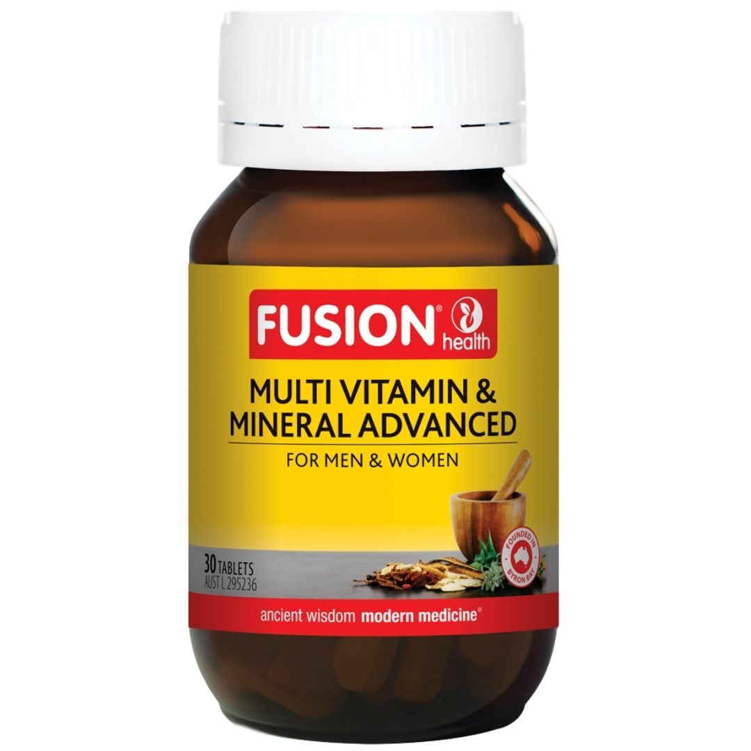 Fusion Health Multi Vitamin & Mineral Advanced 30T