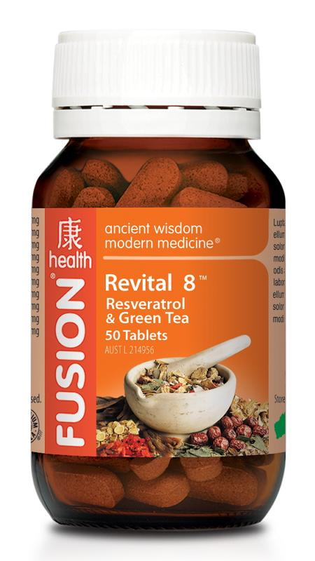 FU REVITAL 8 50TAB 50 Tablets | Mr Vitamins