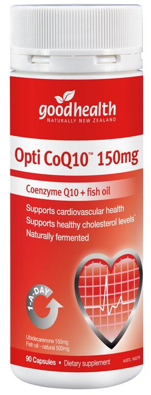 Good Health Opti Coq10 150mg 90 Capsules | Mr Vitamins