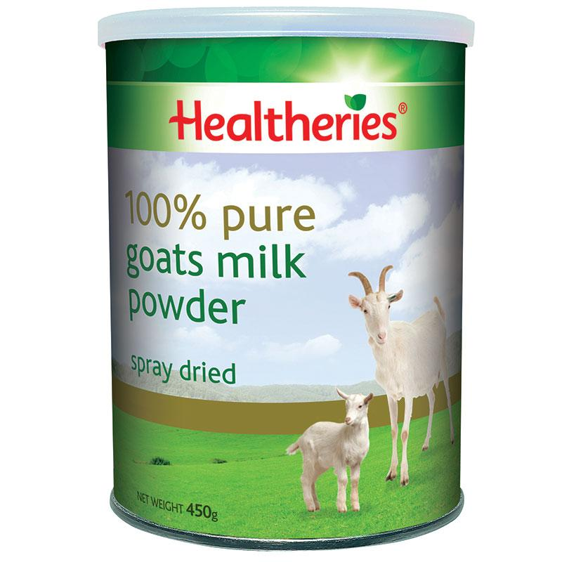 HEALTHERIES GOATS MILK POW 450 450G | Mr Vitamins