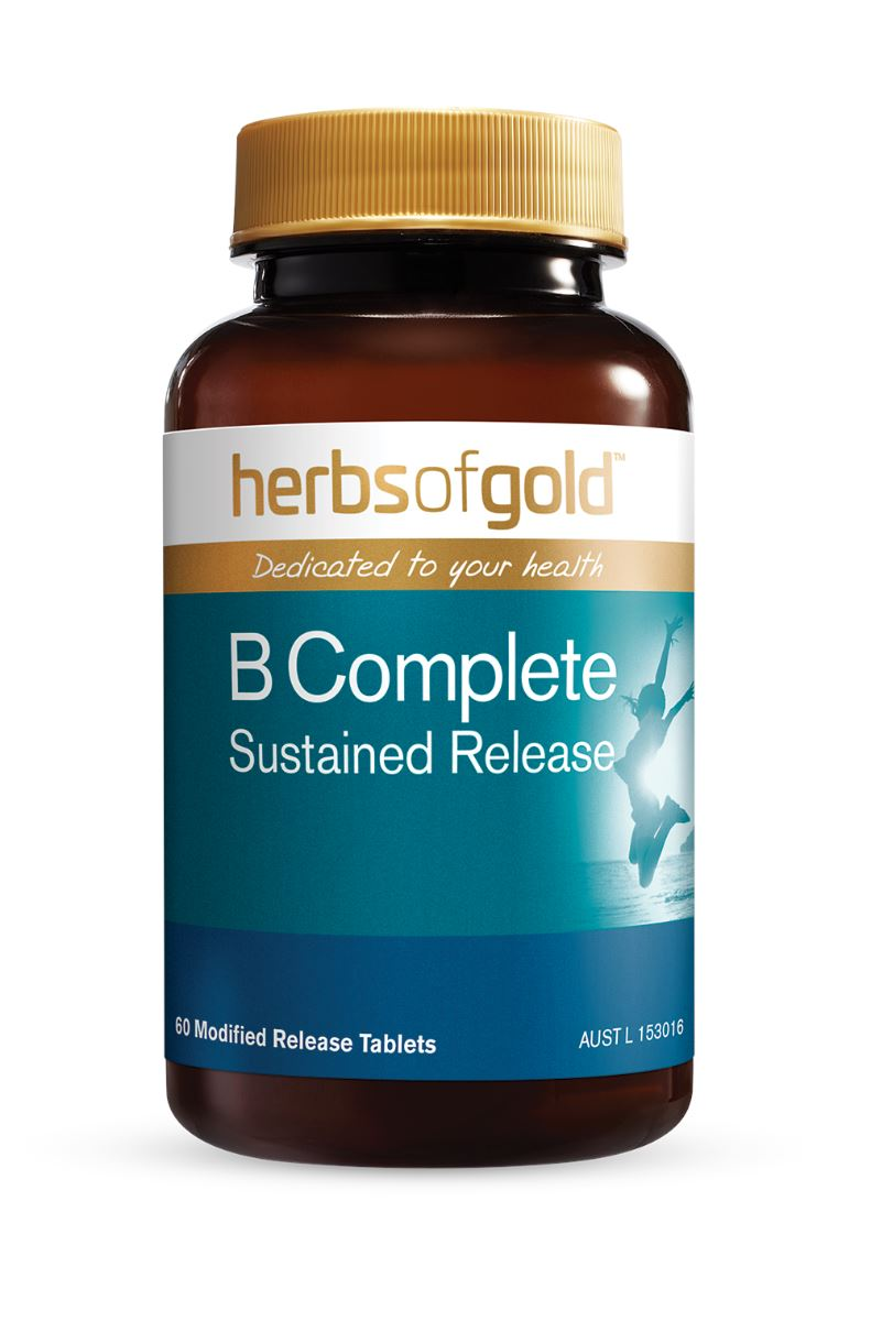 Herbs Of Gold B Complete Sustained Release 60T | Mr Vitamins