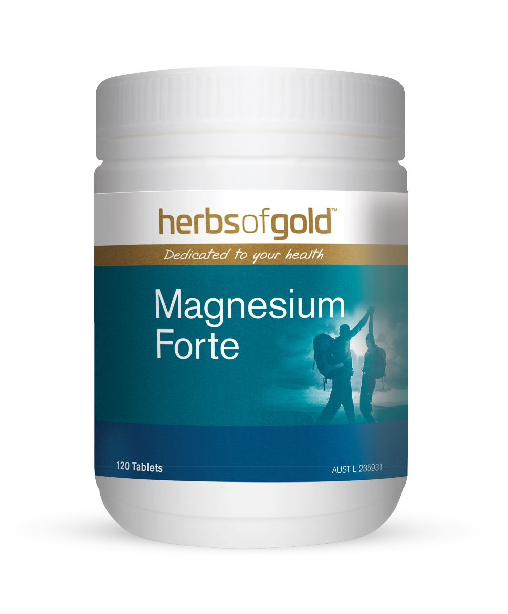 Herbs Of Gold Magnesium Forte 120T | Mr Vitamins