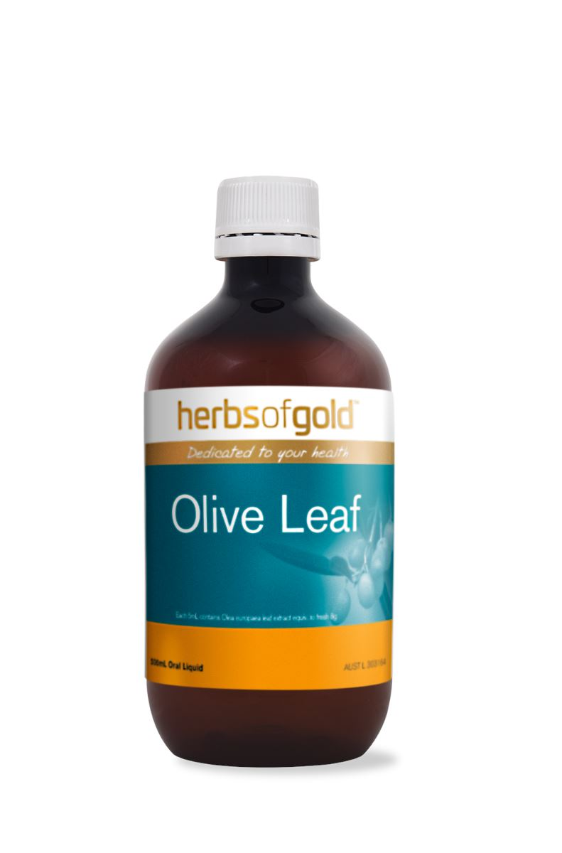 Herbs Of Gold Olive Leaf 500ML | Mr Vitamins