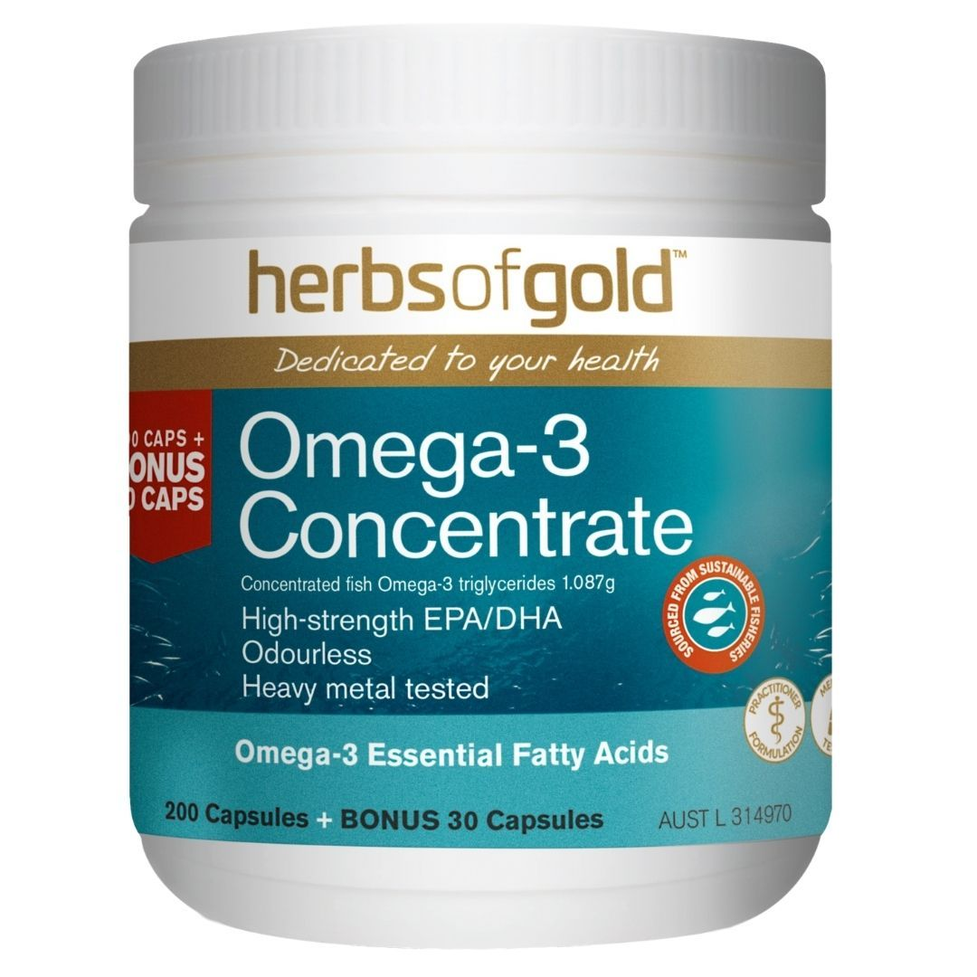 Herbs Of Gold Omega-3 Concentrate 230C