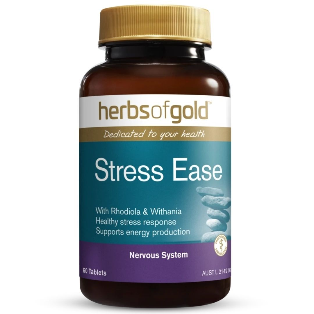 Herbs Of Gold Stress 60 Tablets | Mr Vitamins