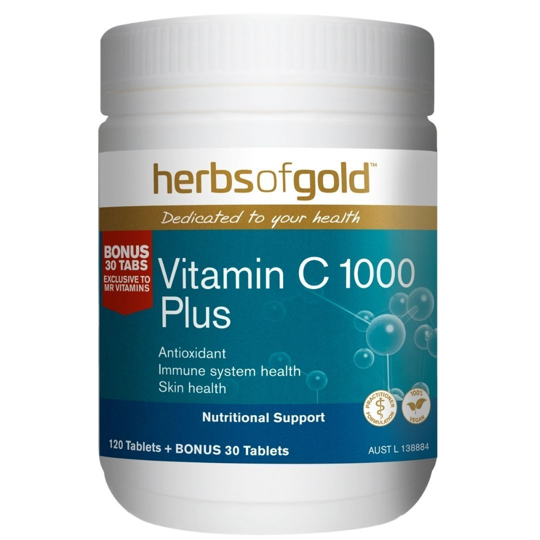 Herbs Of Gold Vitamin C 1000 150T