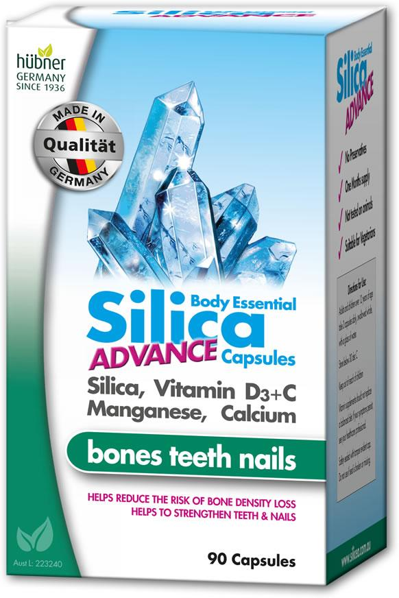 Hubner Silicea Body Essential Silica Advance Capsules | Mr Vitamins
