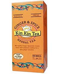 KINKIN GINGER SPICE TEA 25 Tea Bags | Mr Vitamins