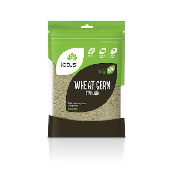 Lotus Stabilised Wheat Germ 500G | Mr Vitamins