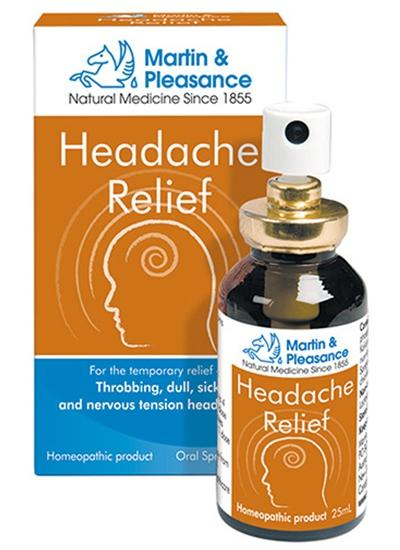 Martin & Pleasance Headache Relief 25ML