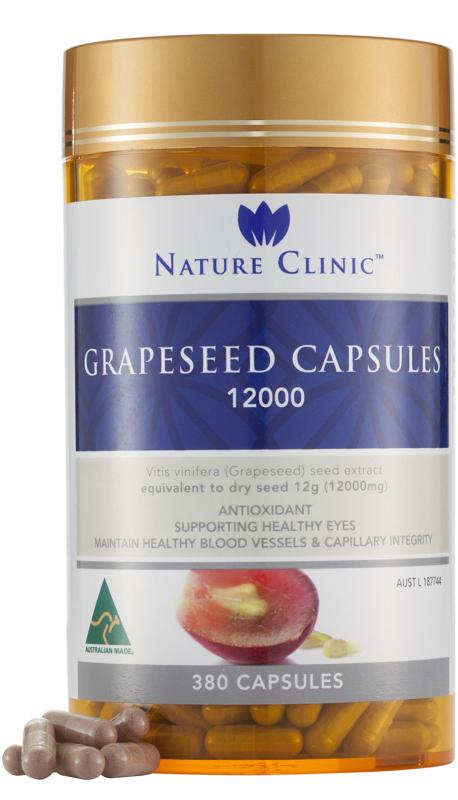 Nature Clinic Grapeseed 12000mg 380C