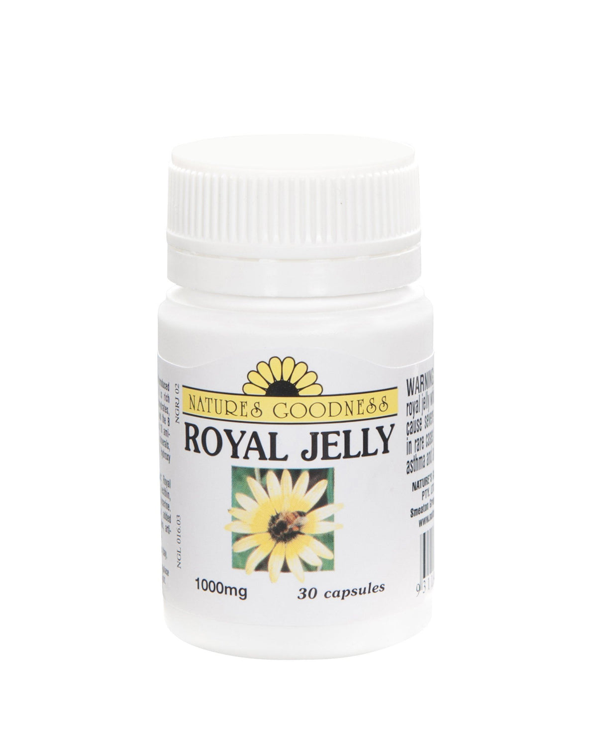 Nature's Goodness Royal Jelly 1000MG 30C | Mr Vitamins