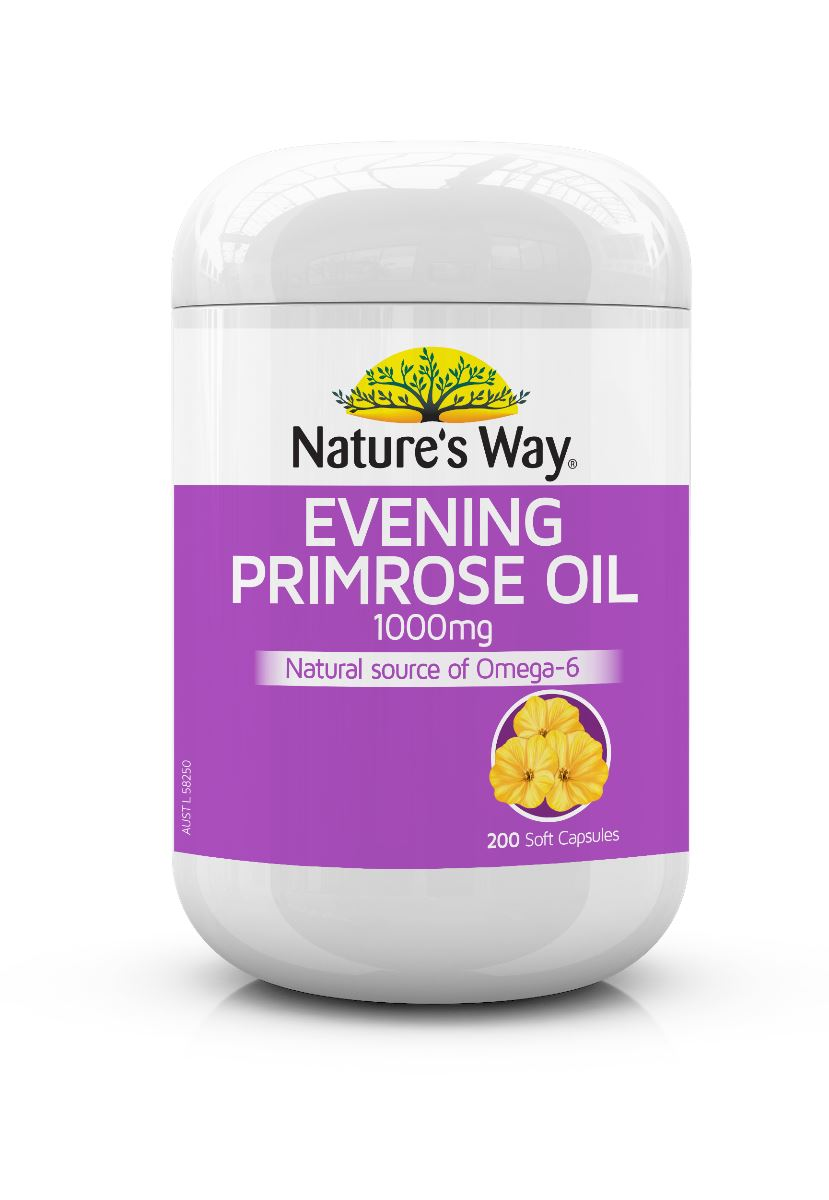 Nature's Way Evening Primrose Oil 200C | Mr Vitamins