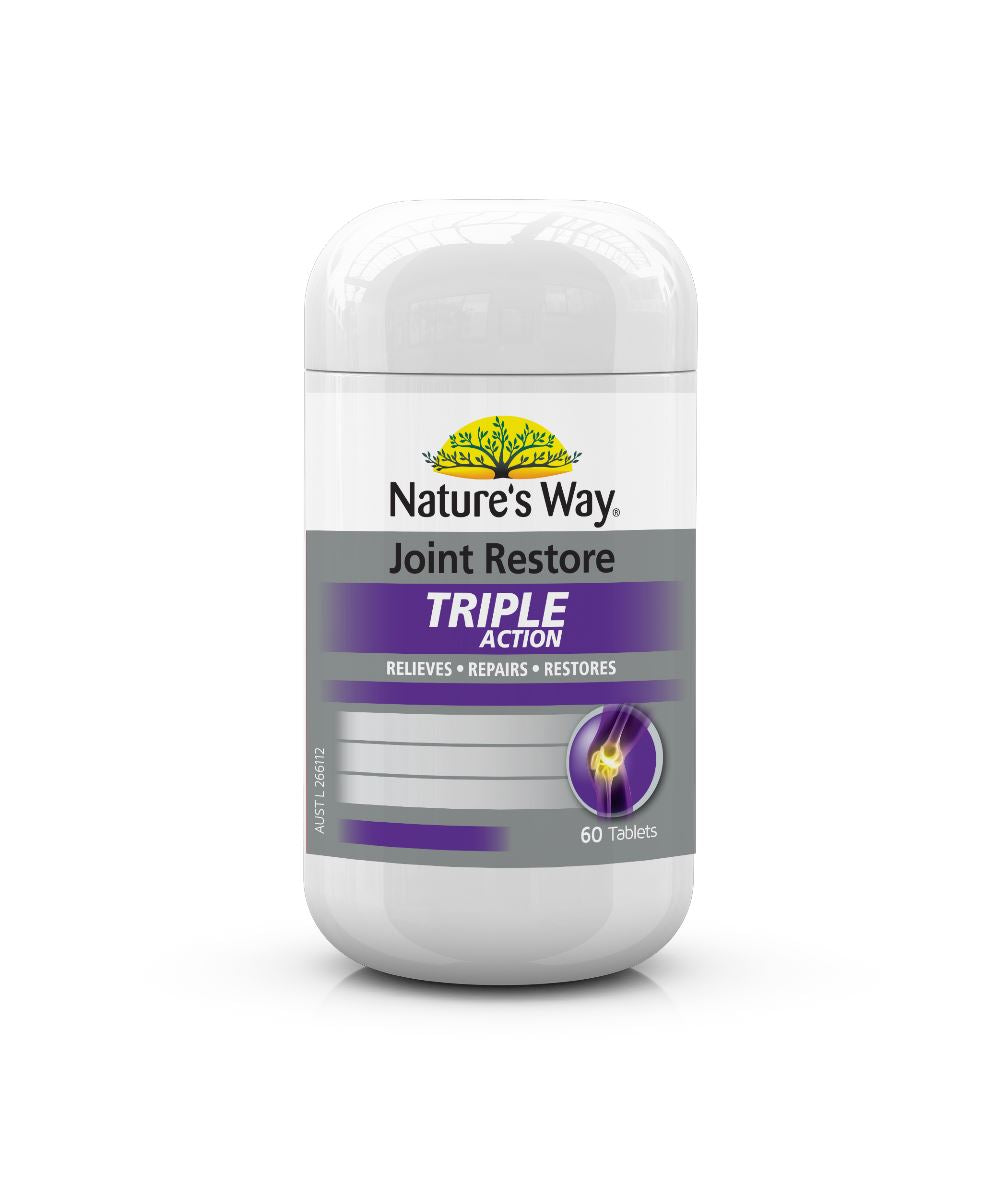 Nature's Way Joint Restore Triple Action 60T | Mr Vitamins