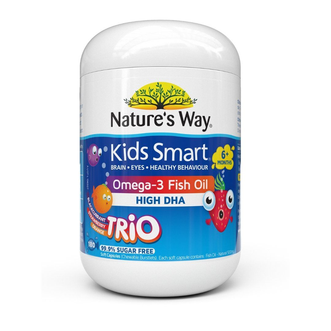 Nature's Way Kids Smart Omega-3 Fish Oil Trio 180C | Mr Vitamins