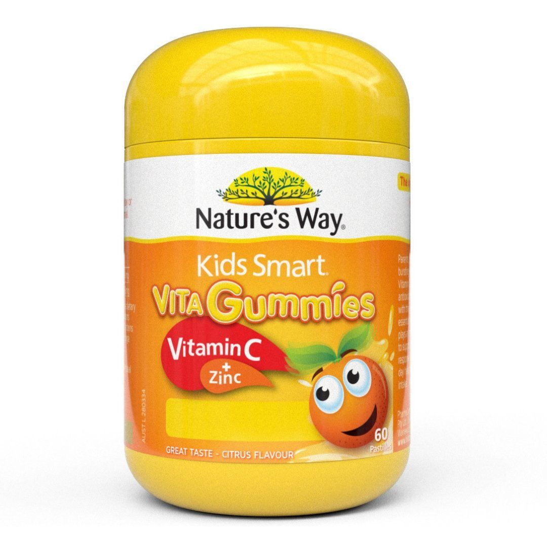 Nature's Way Kids Smart Vita Gummies Vitamin C+ Zinc 60P | Mr Vitamins
