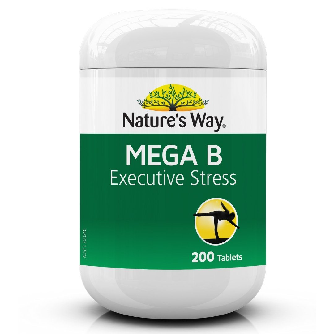 Nature's Way Mega B Executive Stress 200T | Mr Vitamins