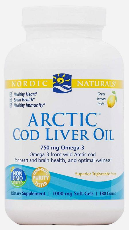 NOR COD LIVER OIL 90C | Mr Vitamins