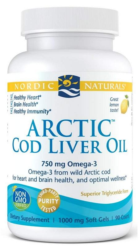 NOR COD LIVER OIL 90C 90 Capsules | Mr Vitamins