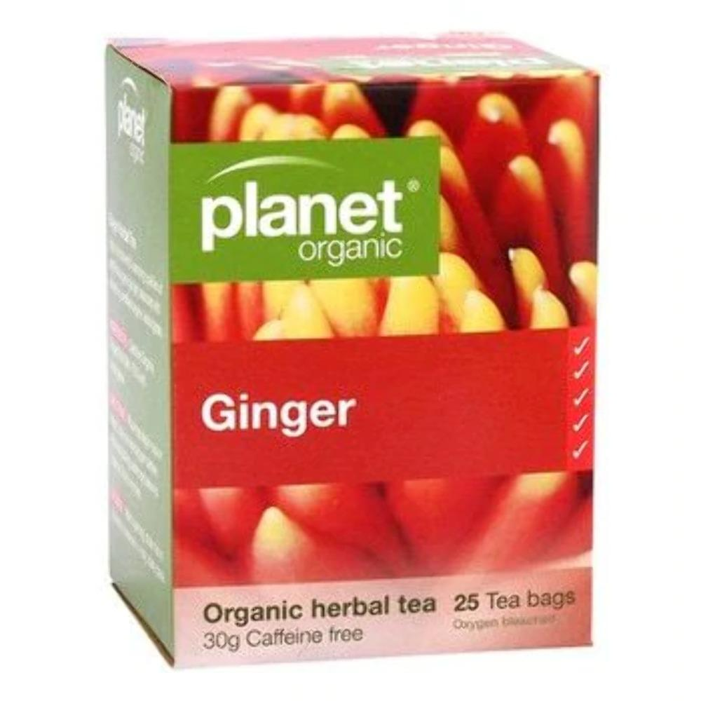 PO GINGER 25 TBAGS 25 Tea Bags | Mr Vitamins