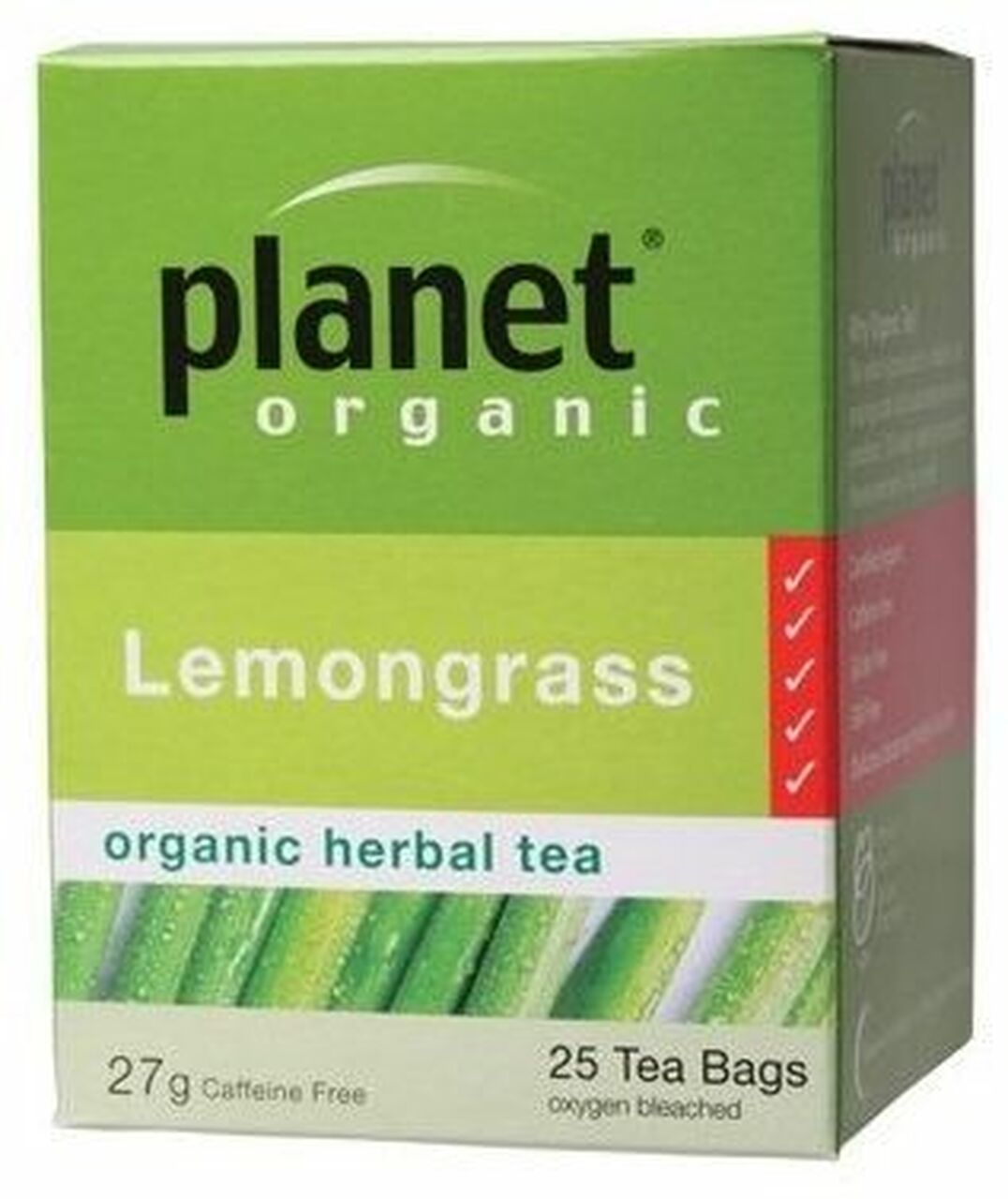 PO LEMONGRASS 25TB 25 Tea Bags | Mr Vitamins