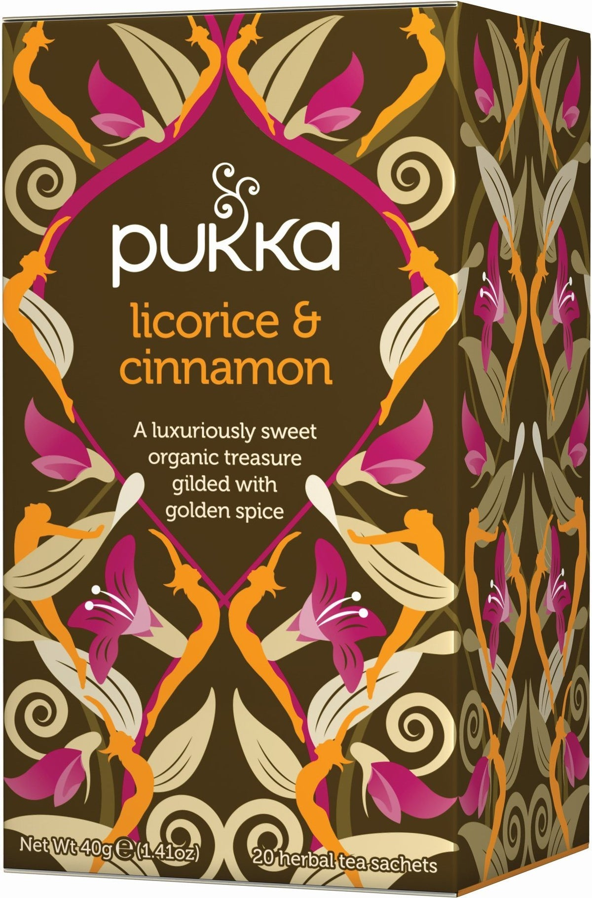 Pukka Licorice & Cinnamon 20 Tea Sachets