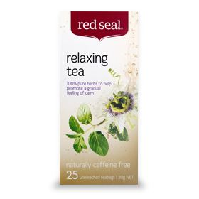 Red Seal Tea Relaxing 25TB | Mr Vitamins