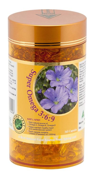 Spring Leaf Super Omega 369 1000mg 365C