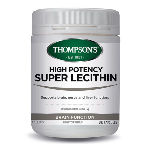 Thompson's High Potency Super Lecithin 200C