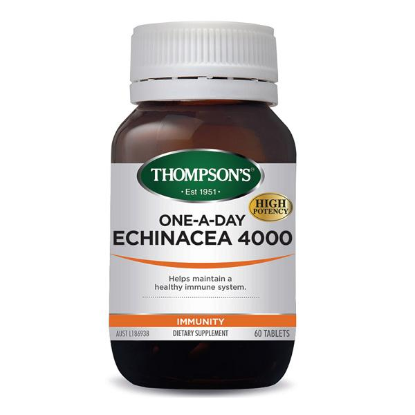 Thompson's One-A-Day Echinacea 4000 60T | Mr Vitamins