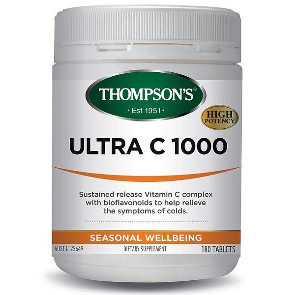 Thompson's Ultra C 1000 180T | Mr Vitamins