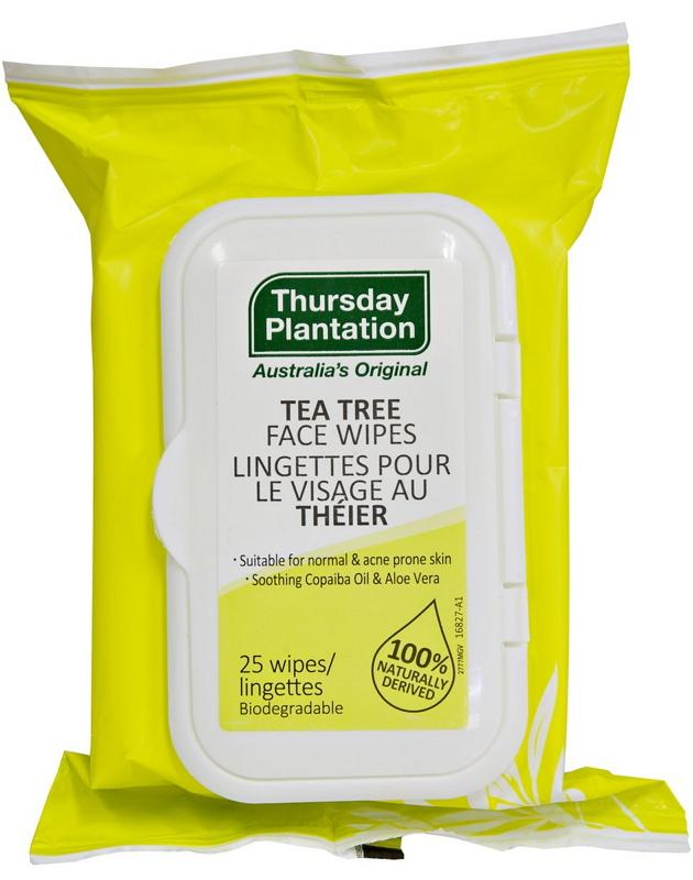 Thursday Plantation Tea Tree Face Wipes for Acne 25P